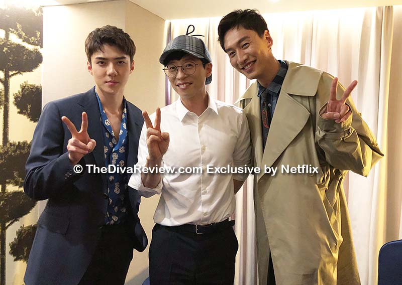BUSTED! Yoo Jae-suk, Sehun, Lee Kwang-soo Exclusive Interview